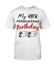 48th Birthday 48 Year Old Classic T-Shirt front
