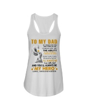 To My Dad If I Could Give You One Thing Ladies Flowy Tank thumbnail