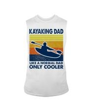 Kayaking Dad Like A Normal Dad Only Cooler Sleeveless Tee thumbnail