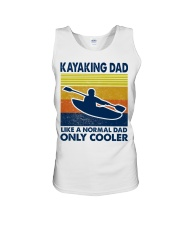 Kayaking Dad Like A Normal Dad Only Cooler Unisex Tank thumbnail