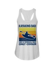 Kayaking Dad Like A Normal Dad Only Cooler Ladies Flowy Tank thumbnail