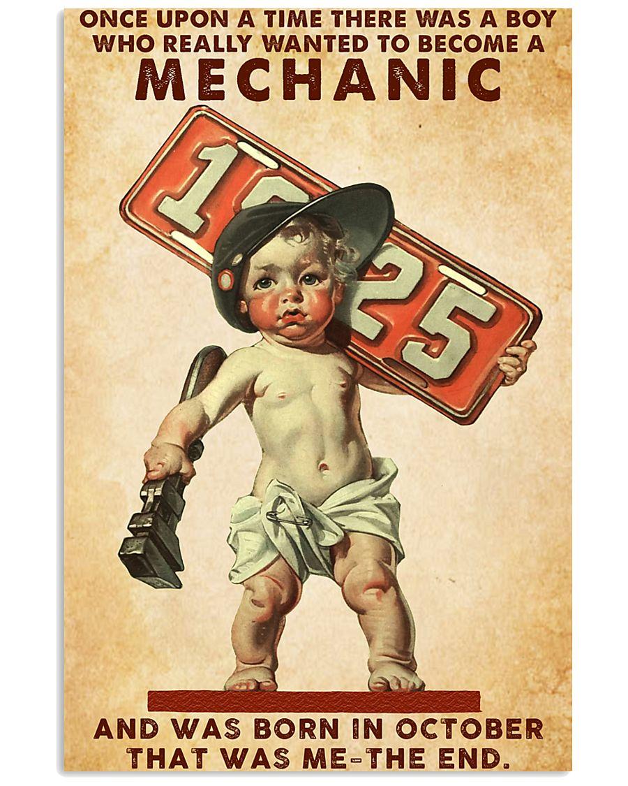 October Mechanic 24x36 Poster