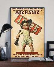 October Mechanic 24x36 Poster lifestyle-poster-2