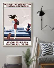 Girl Loved Travelling Born In July 24x36 Poster lifestyle-poster-1