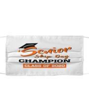 Senior Skip Day Champions Class Of 2020 Cloth face mask thumbnail