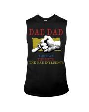 DAD DAD The Man The Myth The Bad Influence Sleeveless Tee tile