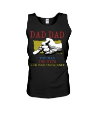 DAD DAD The Man The Myth The Bad Influence Unisex Tank tile
