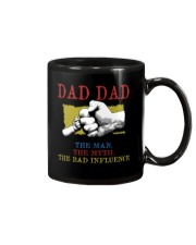 DAD DAD The Man The Myth The Bad Influence Mug tile