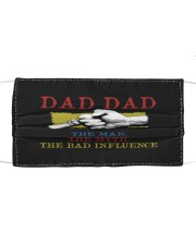 DAD DAD The Man The Myth The Bad Influence Mask tile
