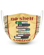 No Shelf Control 2 Layer Face Mask - Single front