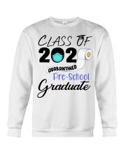 Class Of 2020 Quarantined Pre-School Graduate Crewneck Sweatshirt tile
