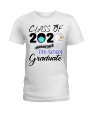 Class Of 2020 Quarantined Pre-School Graduate Ladies T-Shirt tile