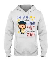 2nd Grade Girl Hooded Sweatshirt thumbnail