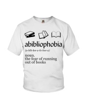 Abibliophobia Youth T-Shirt tile