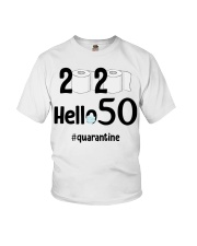 50th Birthday 50 Years Old Youth T-Shirt thumbnail