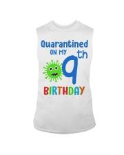 Quarantined On 9th My Birthday 9 years old Sleeveless Tee thumbnail
