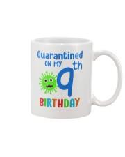 Quarantined On 9th My Birthday 9 years old Mug thumbnail