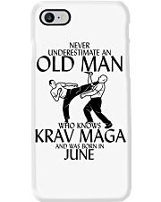 Never Underestimate Old Man Krav maga June Phone Case thumbnail