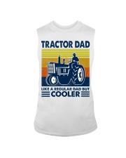 Tractor Dad Like A Regular Dad But Cooler Sleeveless Tee thumbnail