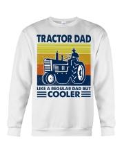 Tractor Dad Like A Regular Dad But Cooler Crewneck Sweatshirt thumbnail