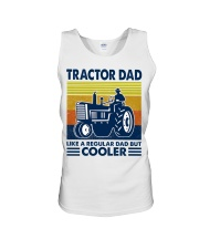 Tractor Dad Like A Regular Dad But Cooler Unisex Tank thumbnail