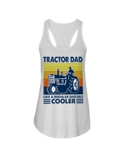Tractor Dad Like A Regular Dad But Cooler Ladies Flowy Tank thumbnail
