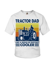 Tractor Dad Like A Regular Dad But Cooler Youth T-Shirt thumbnail