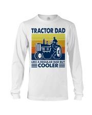 Tractor Dad Like A Regular Dad But Cooler Long Sleeve Tee thumbnail