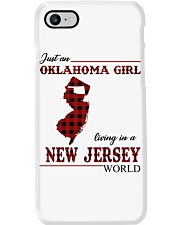 Oklahoma Girl Living In New Jersey Phone Case thumbnail
