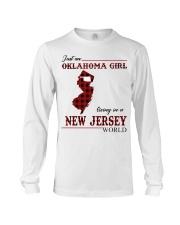 Oklahoma Girl Living In New Jersey Long Sleeve Tee thumbnail