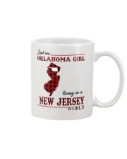 Oklahoma Girl Living In New Jersey Mug thumbnail