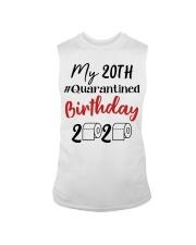 20th Birthday Quarantined 20 Year Old Sleeveless Tee thumbnail