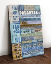 To My Daughter From Mom 20x30 Gallery Wrapped Canvas Prints aos-canvas-pgw-20x30-lifestyle-front-17