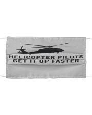 Helicopter Pilot Cloth face mask front