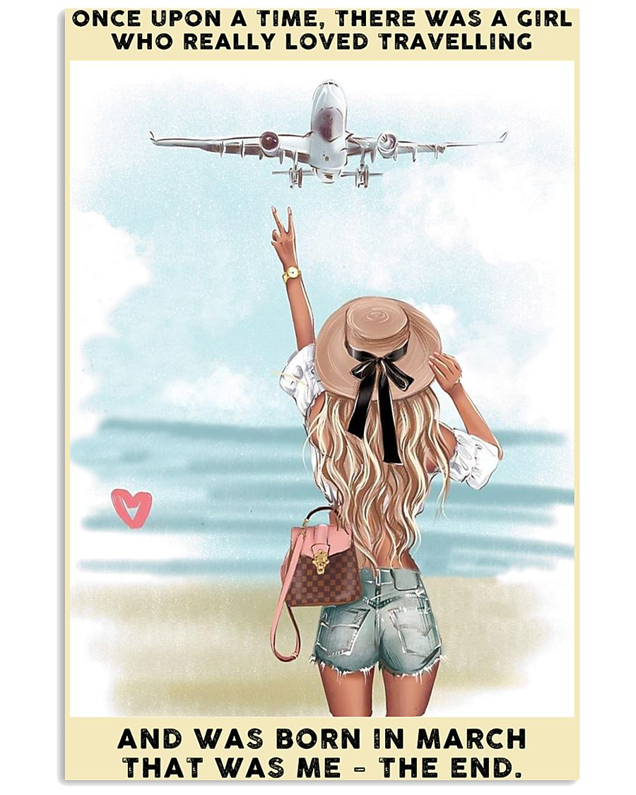 March Girl-Travelling 24x36 Poster