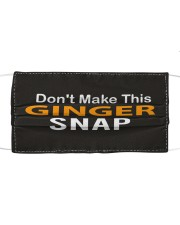 Don't Make This Ginger Snap Cloth face mask thumbnail