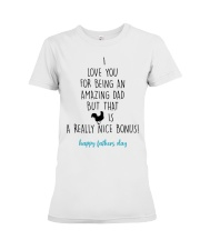 I Love You For Being An Amazing Dad Premium Fit Ladies Tee thumbnail