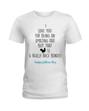 I Love You For Being An Amazing Dad Ladies T-Shirt thumbnail
