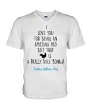 I Love You For Being An Amazing Dad V-Neck T-Shirt thumbnail