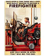 April Firefighter 24x36 Poster front