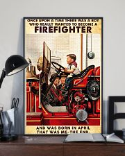 April Firefighter 24x36 Poster lifestyle-poster-2