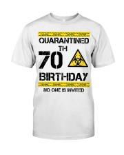 70th Birthday 70 Years Old Classic T-Shirt front