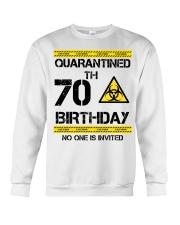 70th Birthday 70 Years Old Crewneck Sweatshirt thumbnail