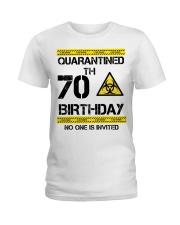 70th Birthday 70 Years Old Ladies T-Shirt thumbnail