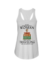 Woman Traveling June Ladies Flowy Tank thumbnail