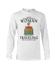 Woman Traveling June Long Sleeve Tee thumbnail