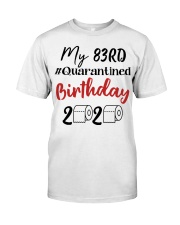 83rd Birthday 83 Year Old Classic T-Shirt front