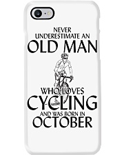 Never Underestimate Old Man Cycling October Phone Case thumbnail