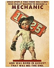 August Mechanic 24x36 Poster front