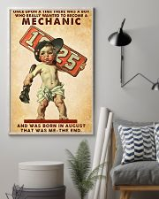 August Mechanic 24x36 Poster lifestyle-poster-1